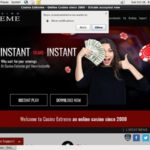 Casinoextreme Cash Back