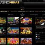 Casinomidas Freispiele