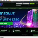Crazycasino Match Bonus