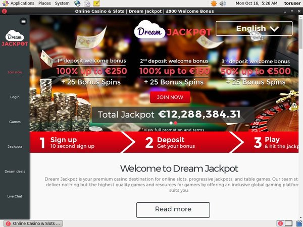 Dreamjackpot Best Casino
