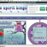 Free Spirit Bingo Bonus