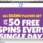 Get My Kozmocasino Bonus?