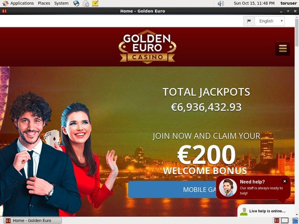 Golden Euro Casino Bonus