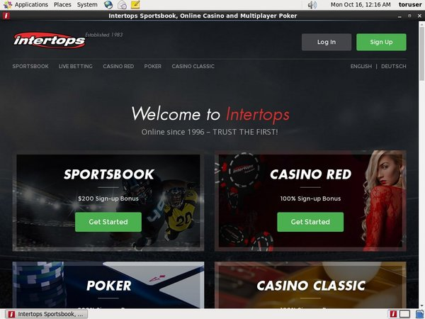 How To Bet Intertops