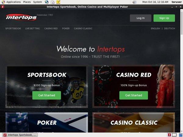 Intertops Betting Tips
