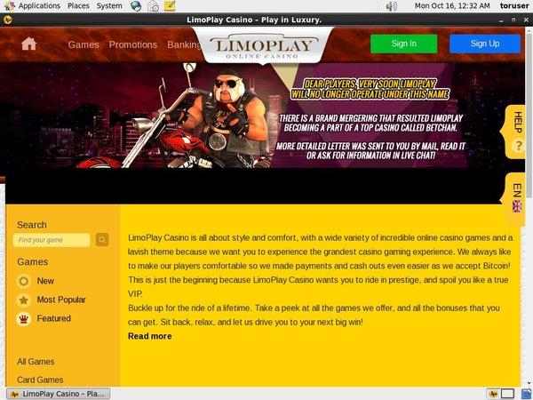 Limoplay Casino App