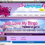 Lovemybingo Make Deposit