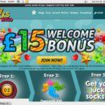 Lucky Socks Bingo Max Bet
