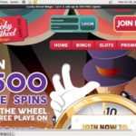 Lucky Wheel Bingo Pay With Paypal