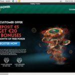 Paddy Power Poker Willkommens Bonus