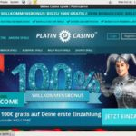 Platin Casino Today Games