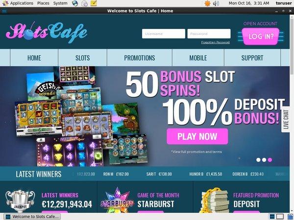 Poker Slots Cafe