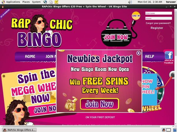 Rap Chic Bingo Gambling Sites