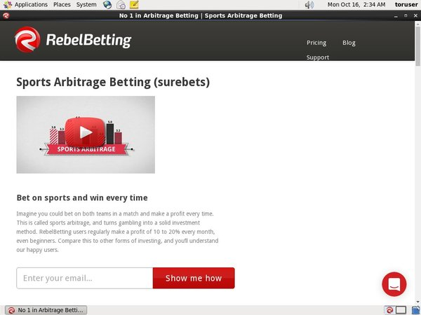 Rebel Betting Scratch
