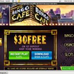 Register For Bingo Cafe