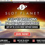Signup Bonus Slot Planet