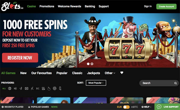 Slots.io Play For Real