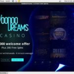 Voodoo Dreams Pay By Mobile Bill