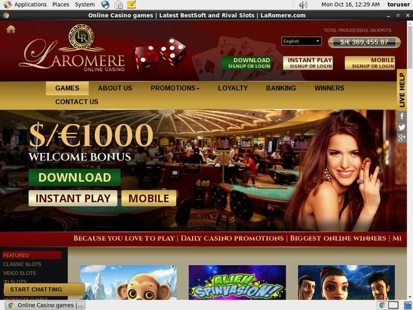 Laromere Minimum Deposit