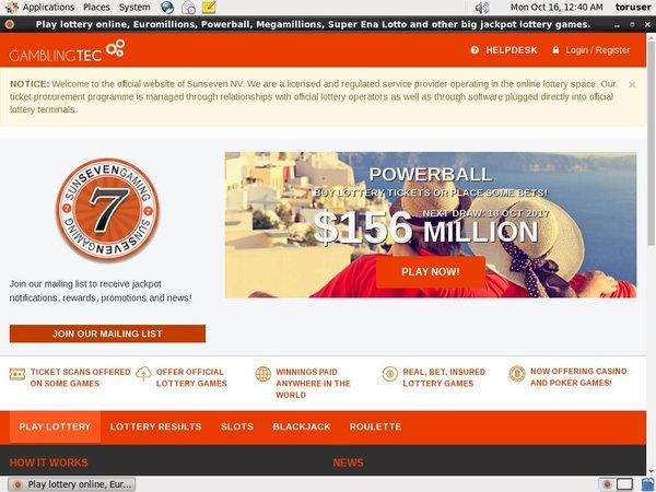 Sun7lottery Uk Mobile