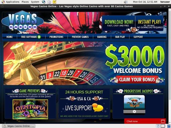 Vegas Casino Online Registrer Dig