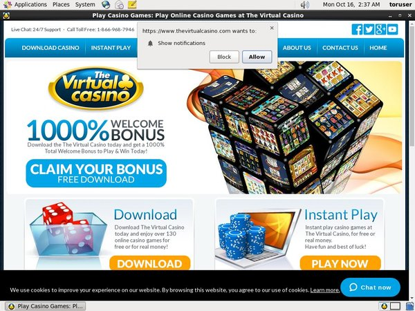 Virtual Casino Offer Paypal?