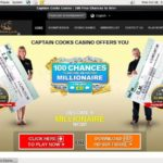 Captaincookscasino Voucher Codes