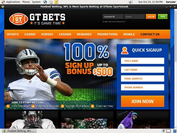 Gtbets Bookmakers