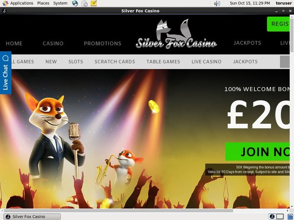 Silverfoxcasino Introductory Offer