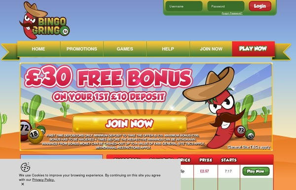 Bingogringo Uk Site