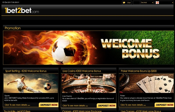 1 Bet 2 Bet Limited Bonus