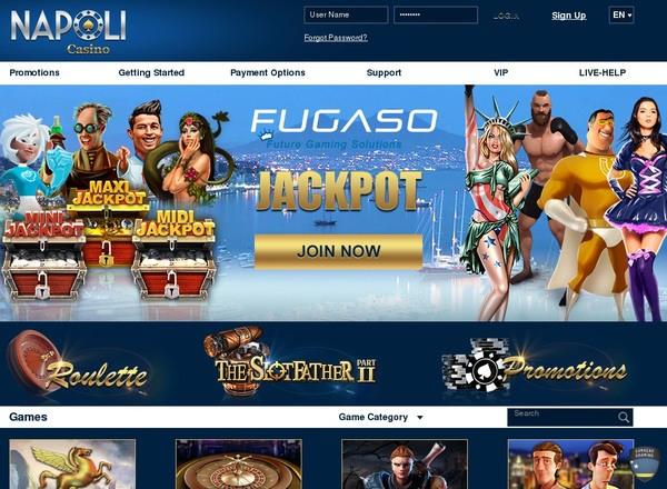 Napoli Casino Best Online Casino