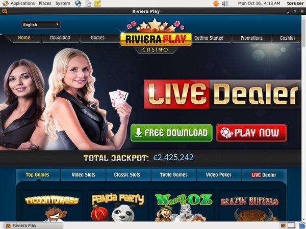 Riviera Play Casino Games