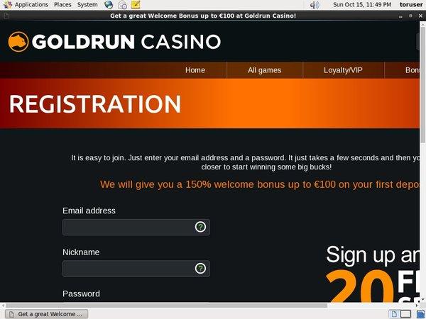 Gold Run No Verification
