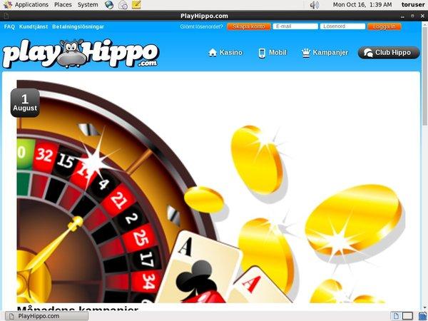 Playhippo Desktop Site Login