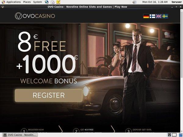 지금 Ovo Casino