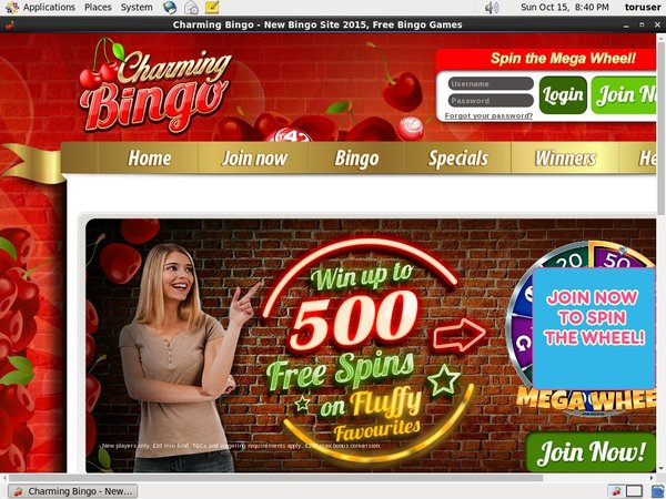 Charmingbingo Games And Casino
