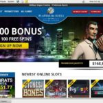 Platinum Reels Sign Up Bonus