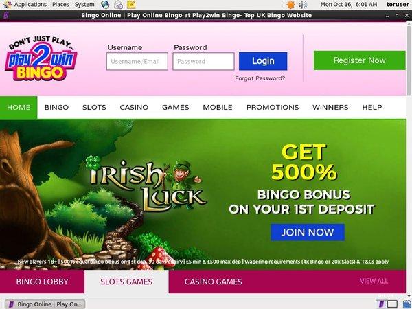 Play2winbingo Price Boost