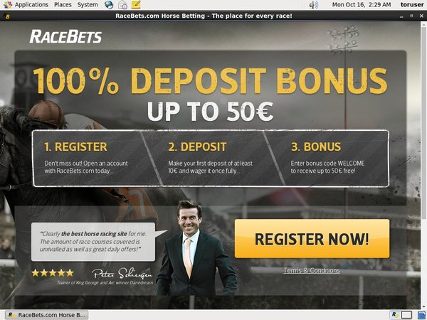 Racebets Matched Betting