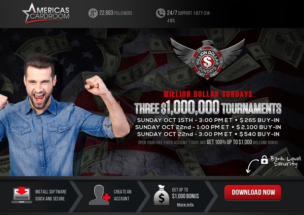 Americascardroom Casino Mobile