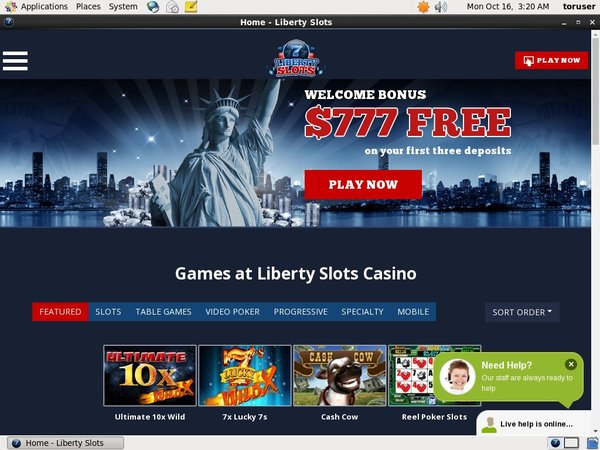 Pay Pal Liberty Slots