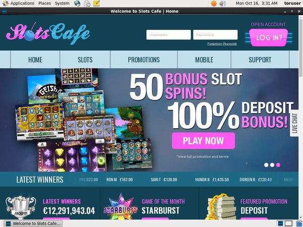 Become Slots Cafe Vip