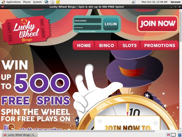 Luckywheelbingo Free Spins No Deposit