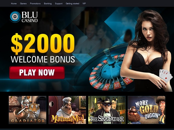Setup Blucasino Account