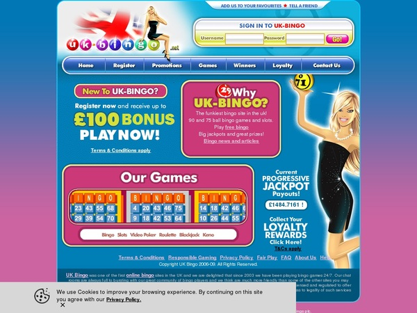 UK-Bingo Android App