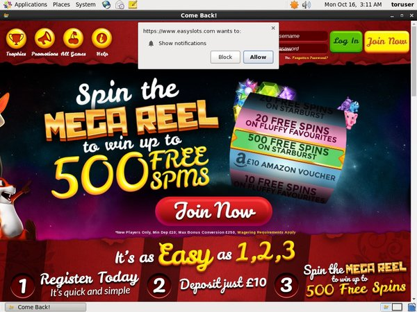 Easy Slots Top Gambling Websites
