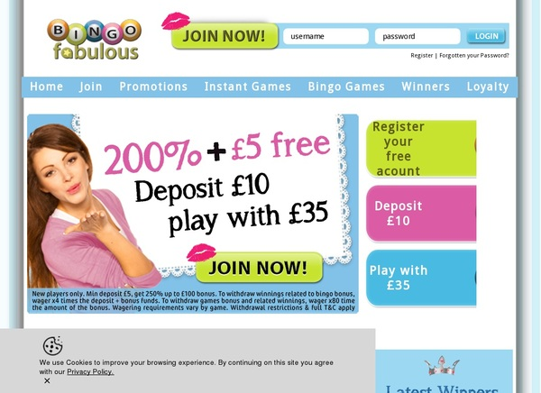 Bingofabulous Refer A Friend Bonus
