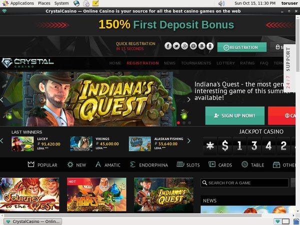 Crystal Casino Best Deposit Bonus