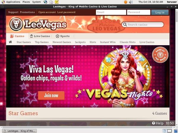 Leovegas Promotional Code